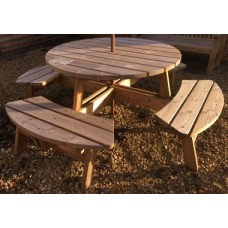 Large Round Picnic Table - Ex-Display Bristol
