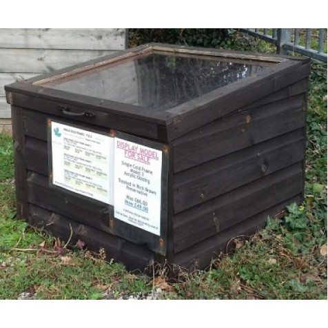 Single Cold Frame Model 3 - Ex-Display Bude