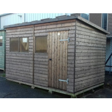 Extra Heavy Duty Pent Workshop 12x8 - Ex-Display Bude