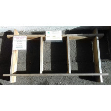 3-Compartment Raised Bed - Ex-Display Bude