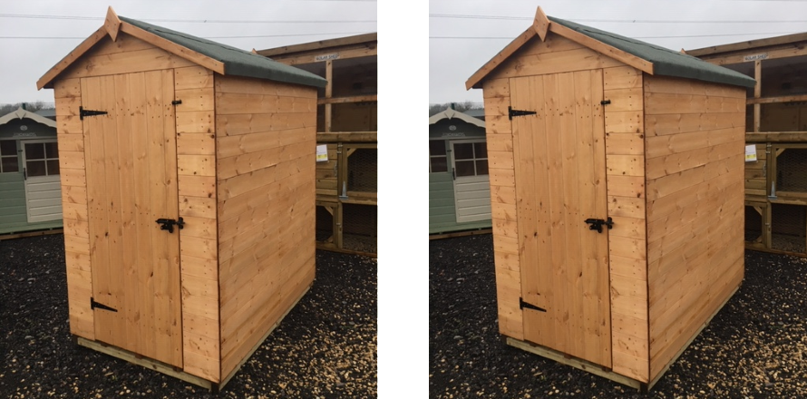 Special Offer 6x4 Corby Shed £249