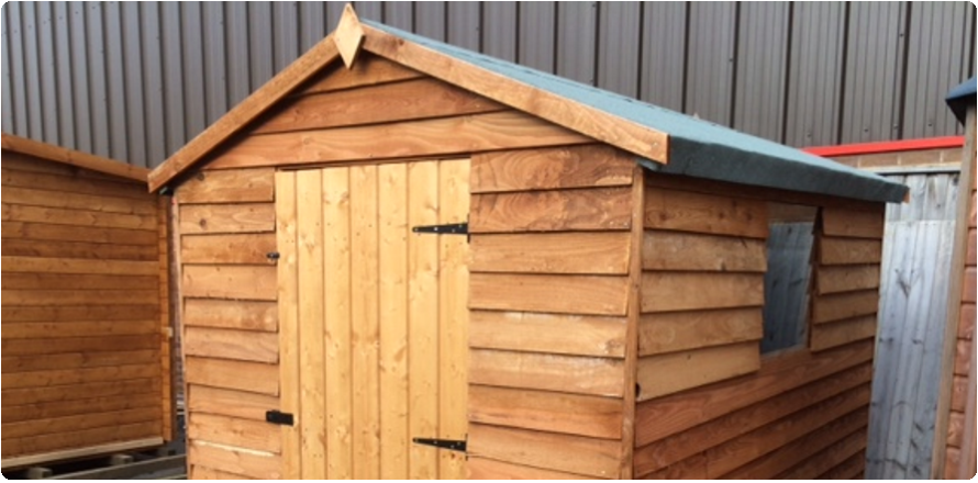 Special Offer 6ft x 8ft Weatherboard