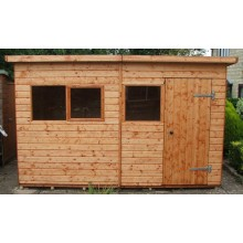 Extra Heavy Duty Workshop - Pent Roof Workshops