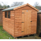 Budget Weatherboard Shed Range - Apex Roof
