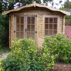 Charnwood Log Cabin - No Verandah Summer Houses