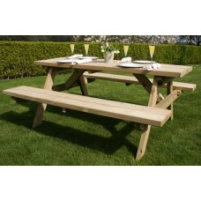 Heavy Duty Picnic Table Garden Furniture