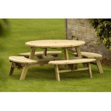 Special Offer Small Round Picnic Table