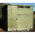 Security Shed Range - Pent Roof
